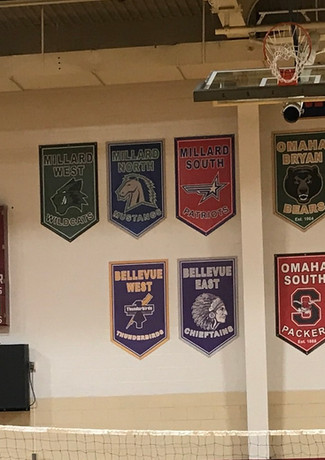 Metro Conference and Championship Banners