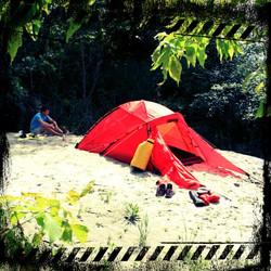 zelten/ trekking