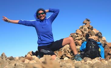 Lucy Lynn - Wanderungen Teide Teneriffa