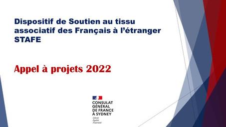 Dispositif de Soutien au tissu associatif des Français à l'étranger (STAFE)