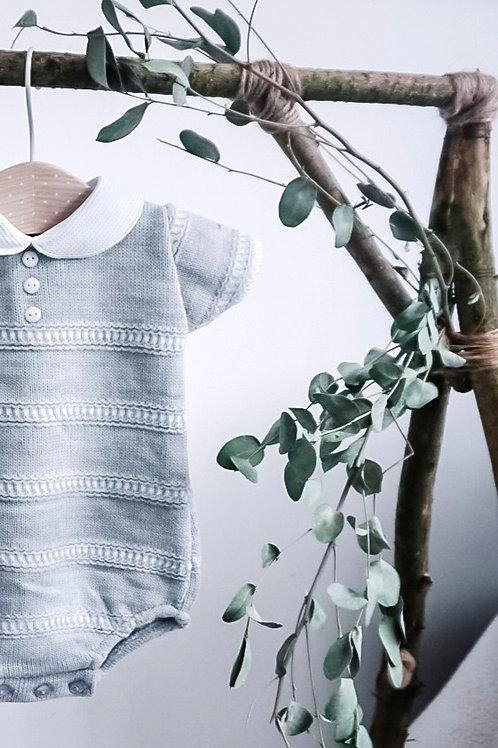 Short Sleeve Knitted Bodysuit