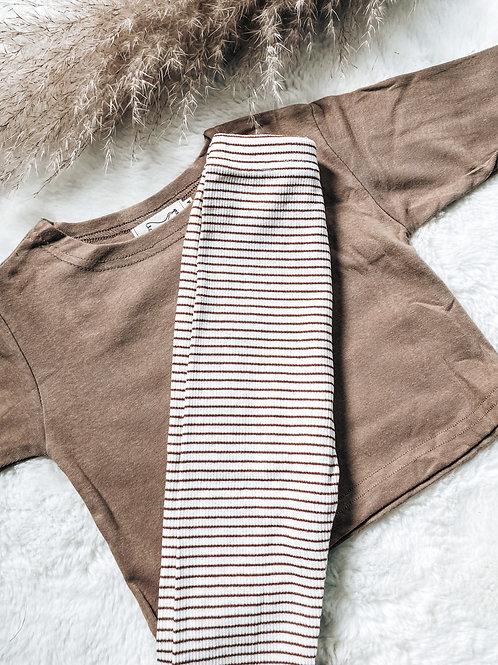 Striped Legging Set