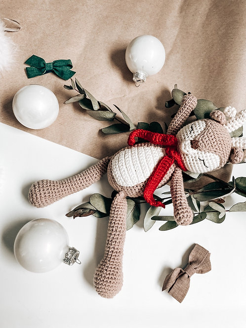 Reindeer Crochet Doll
