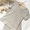 Thumbnail: Ribbed T-Shirt and Legging Shorts Set