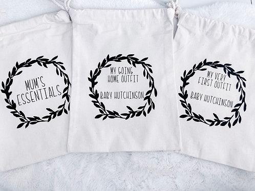 Set of 3 Maternity Hospital Bags