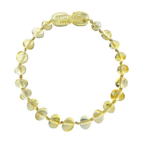 Lemon Amber Teething Bracelet