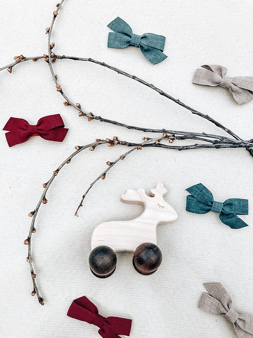 Wooden reindeer Toy