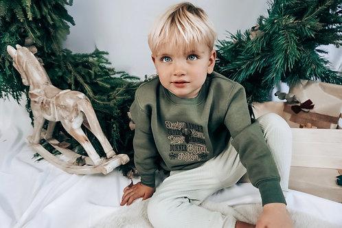 Green Christmas Sweatshirt - Various Designs