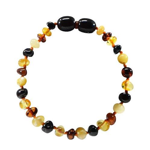 Multi Amber Teething Bracelet