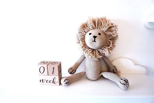Rory the Lion Crochet Teddy