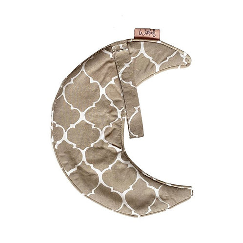 Witlof Moon Pacifier Cloth Sand