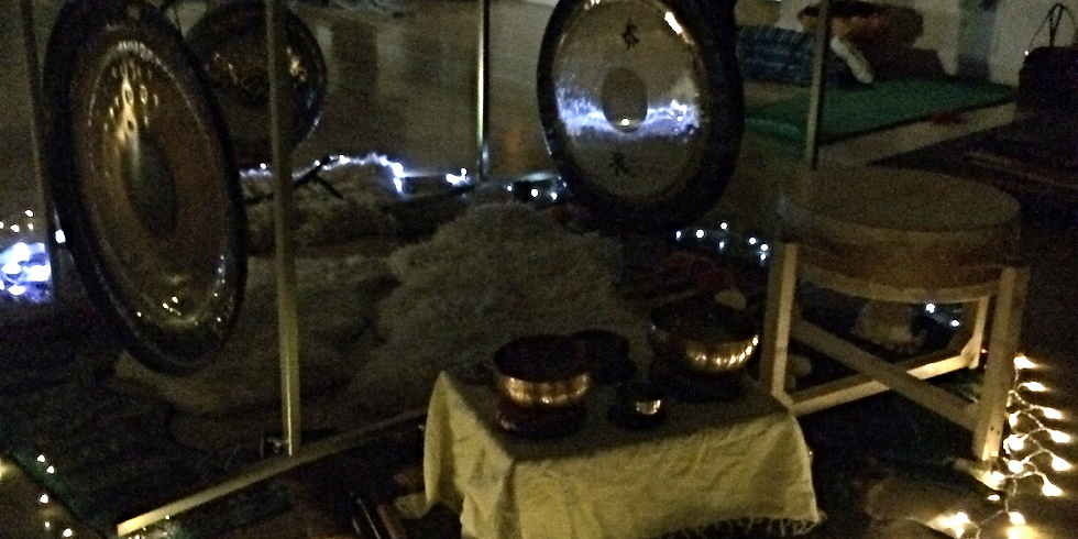 Pre Christmas Rush Gong Gathering/Sound Journey Playden – Evening Session