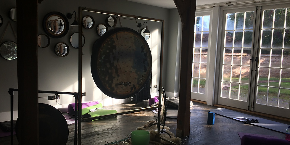 Amazing weekend retreat of yoga staying at finchcock coach house and gardens (1)