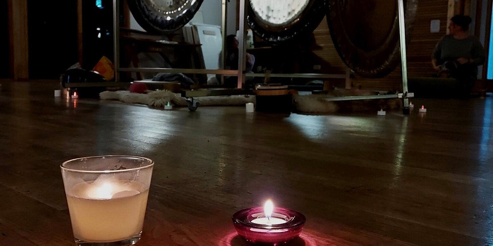 Cacao and Gongs  by candlelight