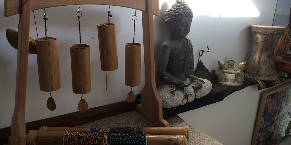 Yoga Stretch, Sound Journey , tea an cake...