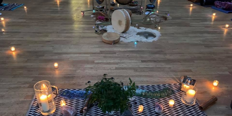 Solstice Cacao by candlelight  plus a  Gong journey TBC