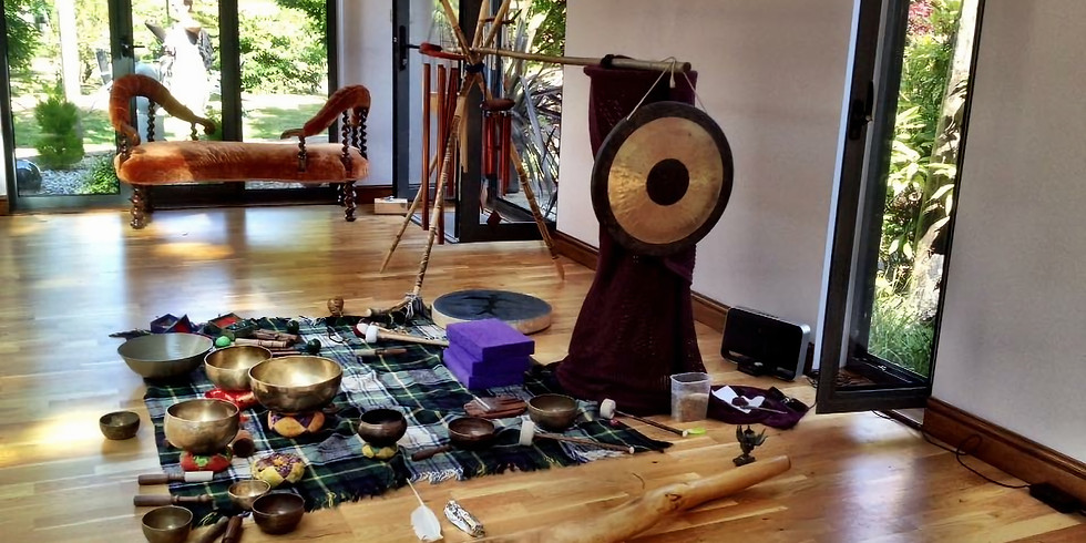 Restorative Sound Bath and Gong Gathering