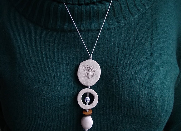 "Collection ""Baltic spirit"". Necklace 4"