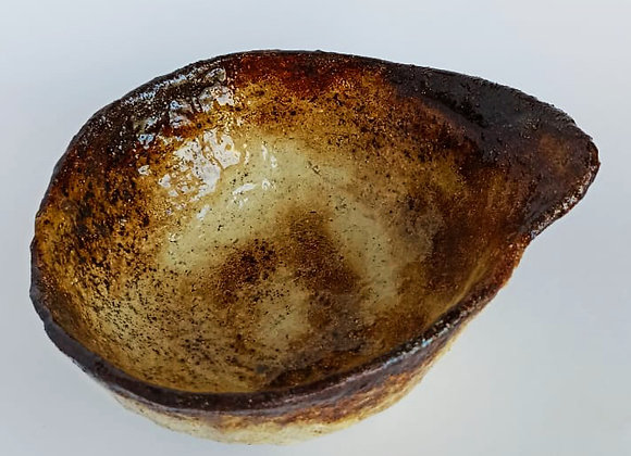 Bowl earthy and burned