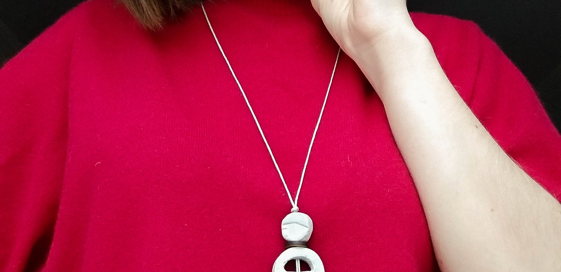 """Collection""""Baltic spirit"""". Necklace 3"""