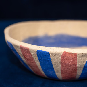 Bowl with an abstract design