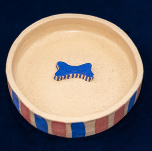 Bowl with a bone
