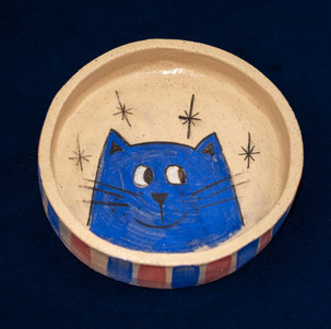 Bowl for a kitty