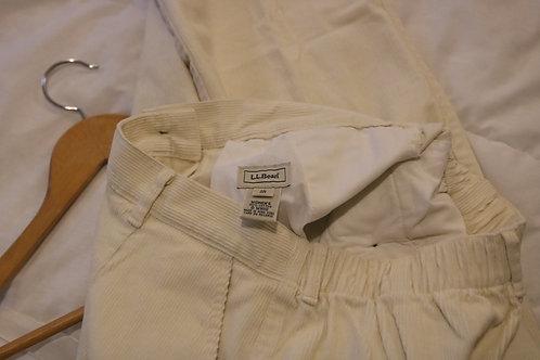 Size 10 Petite L.L. Bean Corduroy Pants