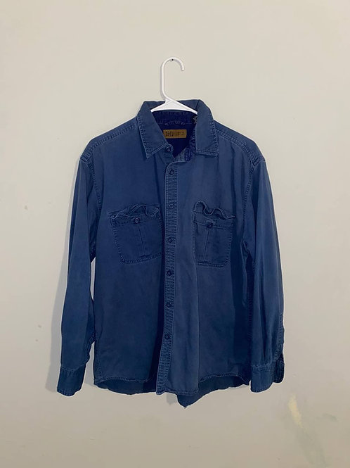 L Authentic Faded Glory Jean Lonsleeve