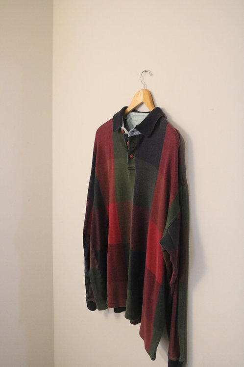 XL Structure Longsleeve Vintage Sweater