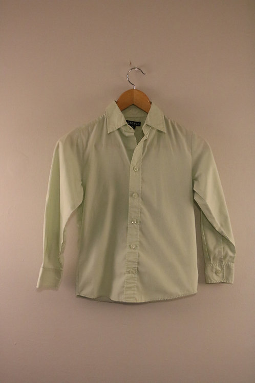 Size 8 George Longsleeve Dress Shirt