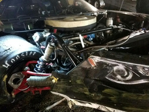 Car Destroyed in Series Opener