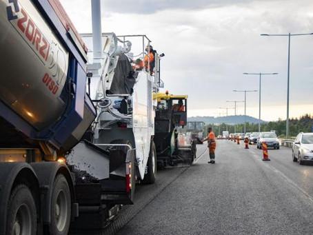 Peab vill se bättre förutsättningar att skydda sina vägarbetare