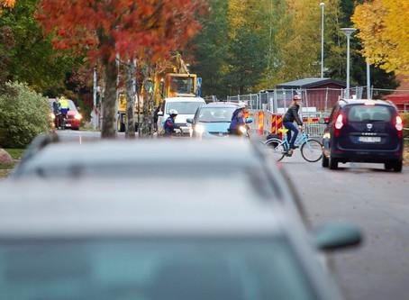 7 av 10 kör för fort förbi Uppsalas skolor..... dags att prova Pacetell Hastighetsdisplay??