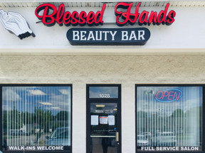 Being Blessed By Blessed Hands Beauty Bar!