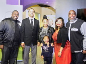 Erica Campbell and William McDowell celebrate the Radio Cares for St. Jude Kids