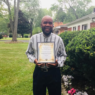 Pastor Louis Self for Mt. Carmel Baptist Church