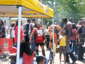 City of Zion: We're Loud and Proud of  LOVING ON OUR COMMUNITY DAY!
