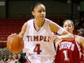 Kamesha Hairston Gets Inducted In Big 5 Hall Of Fame