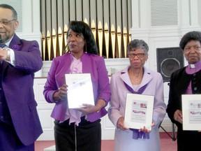 "Searchlite Community Baptist Church Honors ""WOMEN IN PURPLE""!"