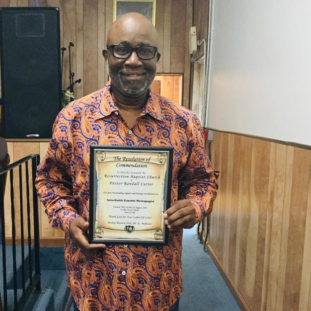 Pastor Randall Carter, Resurrection Baptist Church