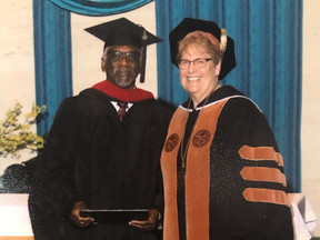 Bishop W. T. Myers Receives Master of Theology Degree!