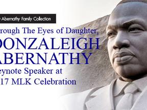 Donzaleigh Abernathy Keynote Speaker at 2017 MLK Celebration