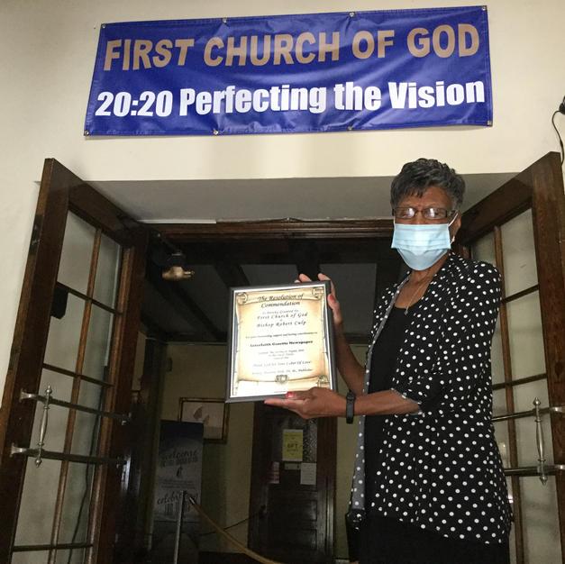 Juanita Green for First Church of God