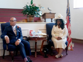 MILESTONES at Mt. Nebo Baptist Church  Celebrated with Pastor Dr. Cedric Brock!