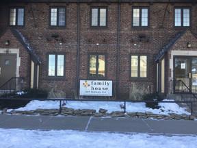 Family House Receives Sock Donation