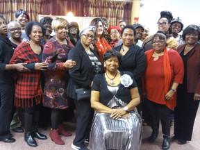 No Limits Women's Support Group Hosts Christmas Dinner!