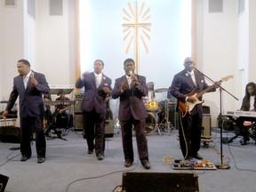 WHEN LEGENDS MEET, THE PEOPLE REJOICE! World Renown Singer Doc McKenzie Celebrates Life of Rev. Theo