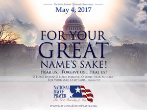 AMERICANS READY TO  ANSWER THE CALL TO PRAY FOR OUR  NATION ON THE 66TH ANNUAL NATIONAL DAY  OF PRAY