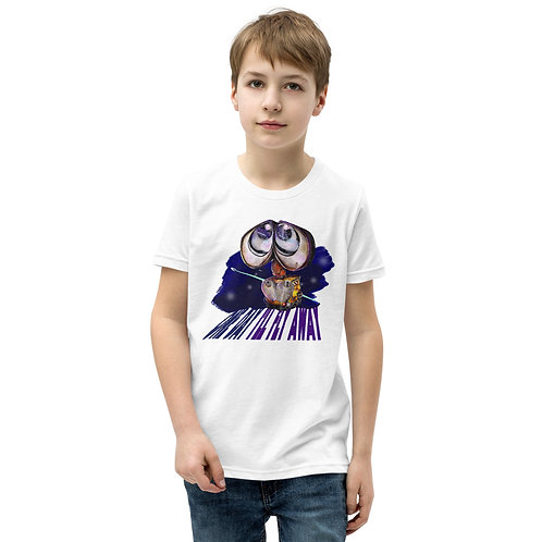 Wall-E / One Day I'll Fly Away - Youth Short Sleeve T-Shirt (All genders)